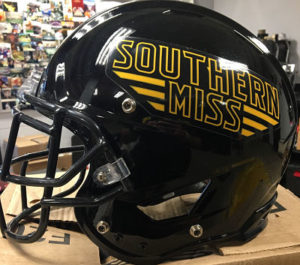 Southern Mississippi football Helmet